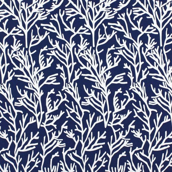 Manglar 6 - Cotton - Polyester - navy blue