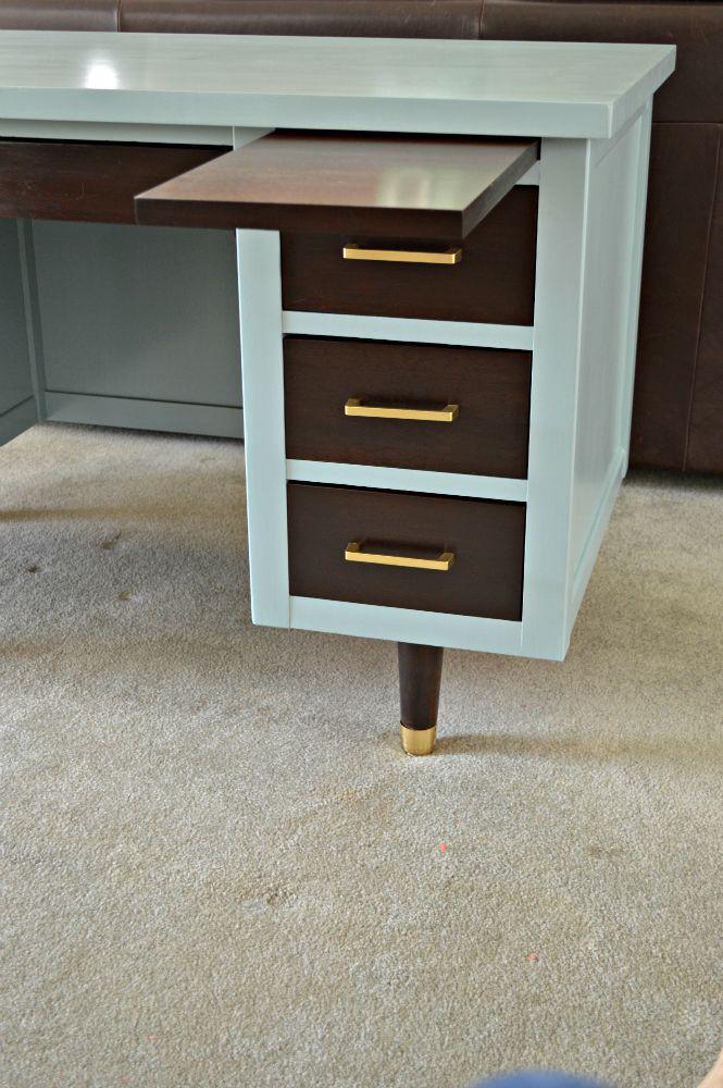 Best 25 Metal Desk Makeover Ideas On Pinterest Filing Cabinet Makeovers Filing Cabinet Desk