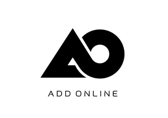 There's something beautiful about the shape of this logo for AO.