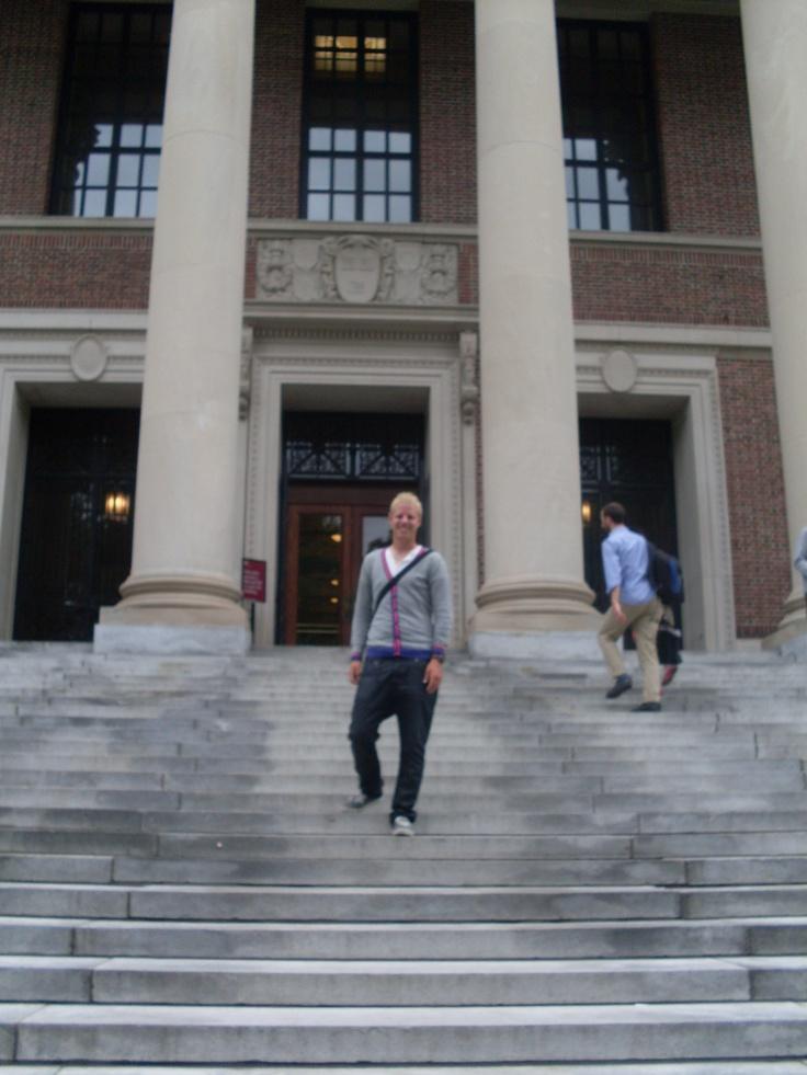 At main entrance libra...
