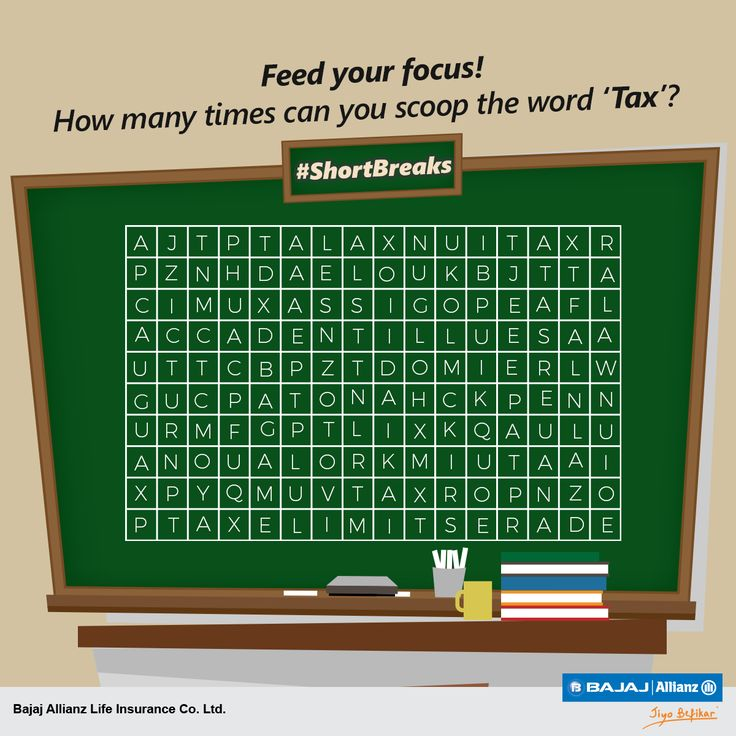 Time to push up your glasses, and tax your brain a bit! Here's a #ShortBreak for you to find the word 'Tax'. Find it as many times as you can.