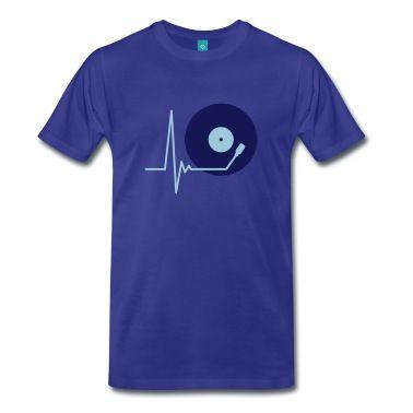 music_pulse_2c T-skjorte | Spreadshirt | ID: 16845135