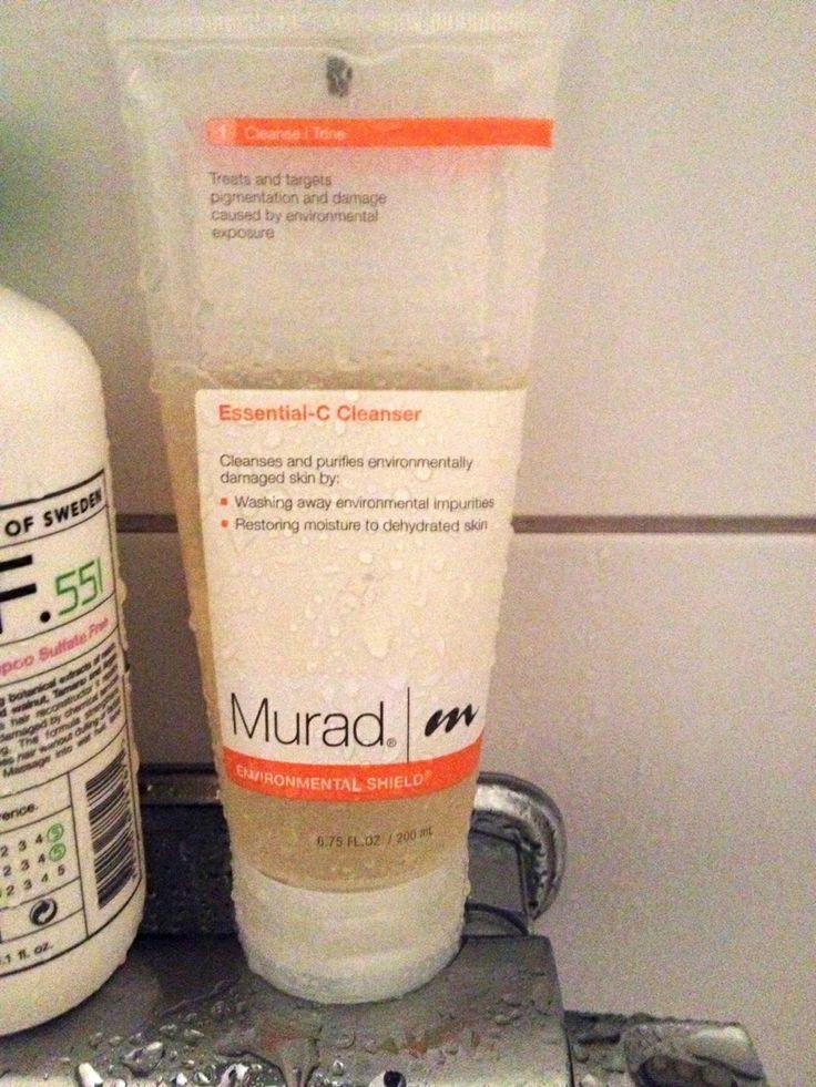 Murad Essential-C Cleanser. Daniel recenserar ansiktsrengöring. http://testpiloterna.wordpress.com/2012/12/18/uppfriskande-rengoringsgele/