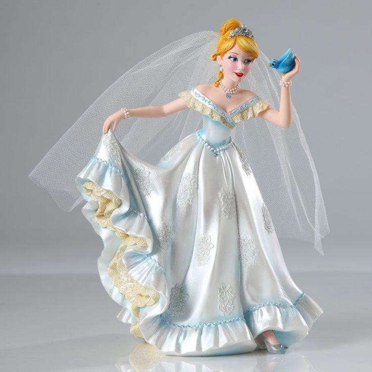 Disney Showcase Couture de Force Cinderella Bridal Figurine Enesco 4045443 NIB #DisneyShowcase