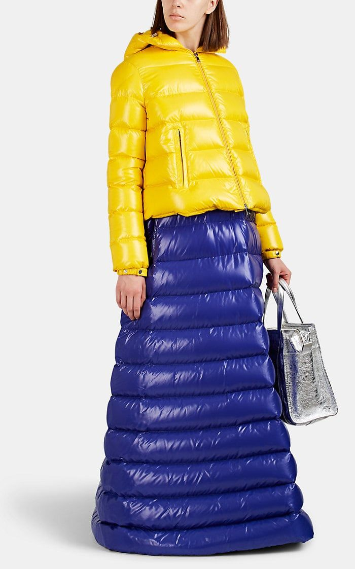sale retailer 2e5aa ed0cd 1 MONCLER PIERPAOLO PICCIOLI Down-Quilted Long Puffer Dress ...