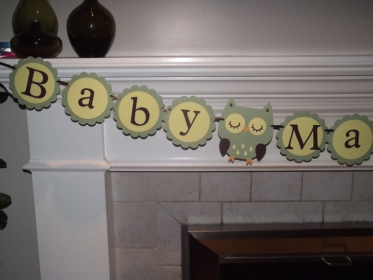 Baby Makes Three - baby showe banner - YOU PICK COLORS - Hayley Wise Owl Collection. $30.00, via Etsy.Charms Baby, Etsy, Baby Shower Someday, Rez Baby, Three Baby, Katie'S Baby, Banners, Baby Stuff