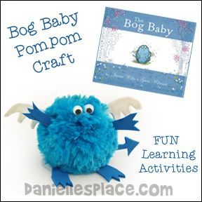"""""""The Bog Baby"""" Children's Story Crafts and Learning Activities for Children from www.daniellesplace.com"""