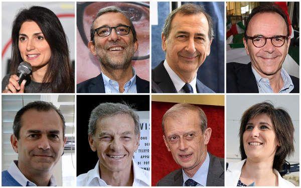 Elezioni 2016 : le parole chiave dei candidati sindaci a Milano, Roma e Torino