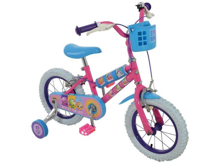 Shopkins Collectible 14 inch Bike with 6 Shopkins