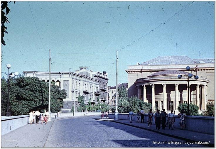 Сабанеев мост (улица Менделеева).  Слайд, 1963 год