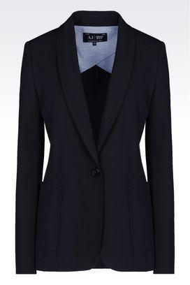 Armani Jeans Designer Blazers for women Spring Summer 2015 - Armani.com