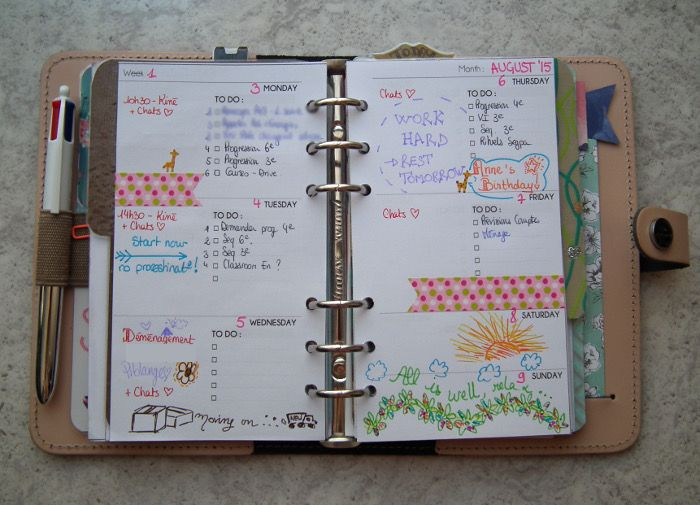 Les lubies de Caroline: Bullet Journal: mon bilan