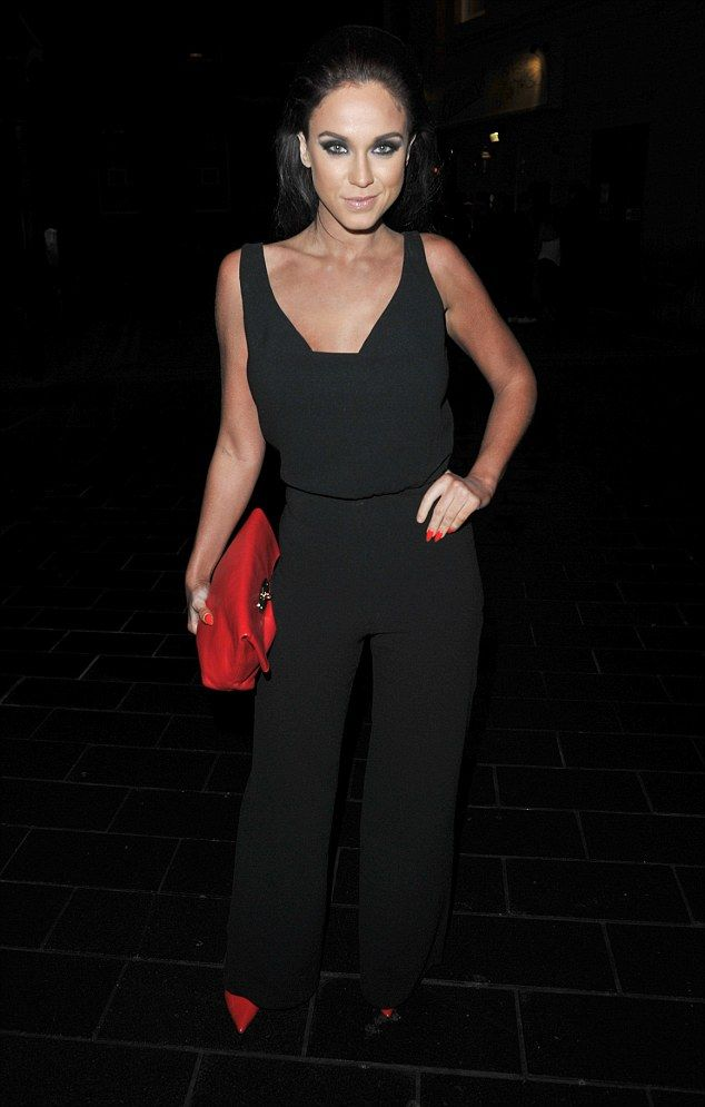 Hard to miss! Vicky Pattison managed to turn several heads as she made her way to Newcastle hotspot Fat Buddha with her girlfriends for a pre-Christmas bash on Friday