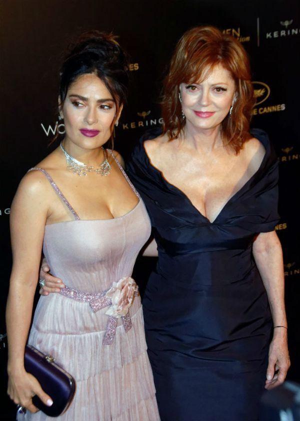 Beautiful Salma Hayek & Beautiful Susan Sarandon
