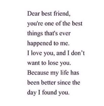 The 25 best Dear best friend letters ideas on Pinterest You are