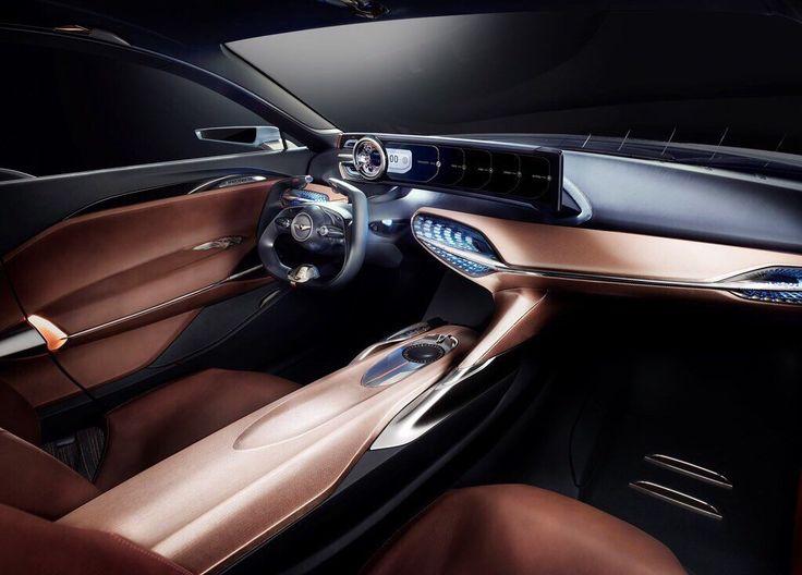 Genesis New York Concept Interior · Car Interior DesignInterior ...