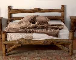 resultado de imagen para camas rusticas de madera