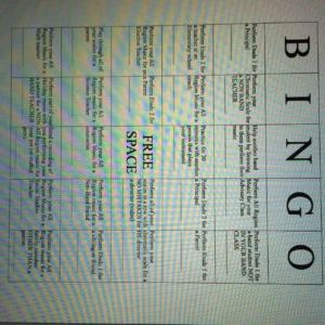 Trick students into practicing more with this brilliant Practice Bingo idea.  Students get as many signatures as they can for completing the different tasks in each square.  high school band, middle school band, beginner band