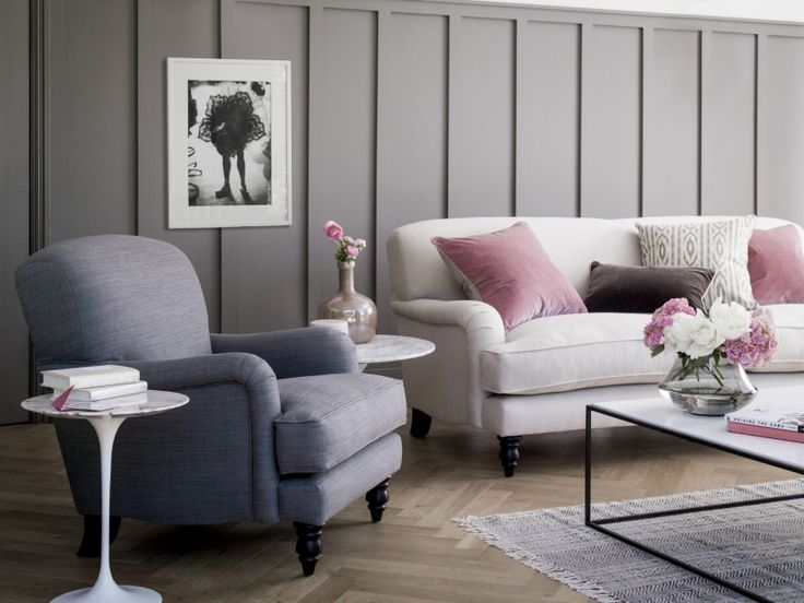 Lovely The Small Snowdrop Armchair In Pewter Pure Belgian Linen, £690 · Sofa  ComNorfolk HouseTraditional ...