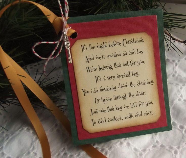 The best santa s magic key ideas on pinterest
