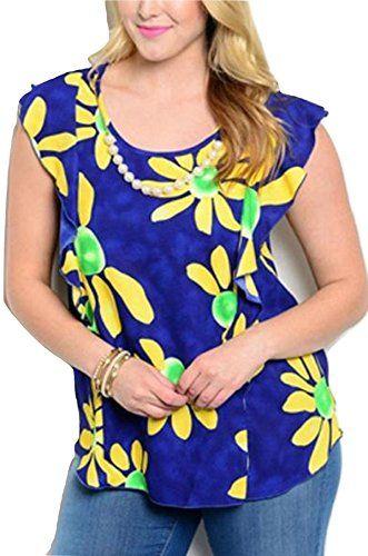 VivaYou Viva You Womens Top Plus Size Dark Blue Floral Ca... https://www.amazon.com/dp/B07BHTKXG8/ref=cm_sw_r_pi_dp_U_x_oHtRAbTY3PREB