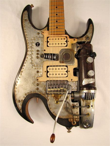 Jynx electric guitar body front Picture