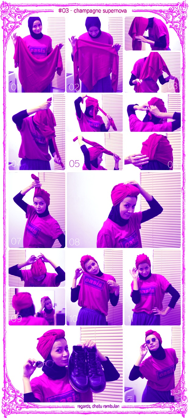 17 Best Images About Hijab Tutorial And Tips On Pinterest