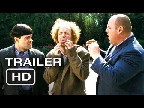 "The Three Stooges Official Trailer #1 - Farrelly Brothers Movie (2012) HD - I say, Poke my eyes out, please."" This is brutal..."