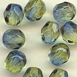 """From Carolyn's Favorites - """"Love these two tone fire polished beads.""""Crystals, Carolyn Favorite, 16193 Olive'S Capri, Eebeads Com Pin, Eebeadscom Pin, Olive'S Capri Fire, Jewelry Making Supplies, Beads Projects, Polish"""