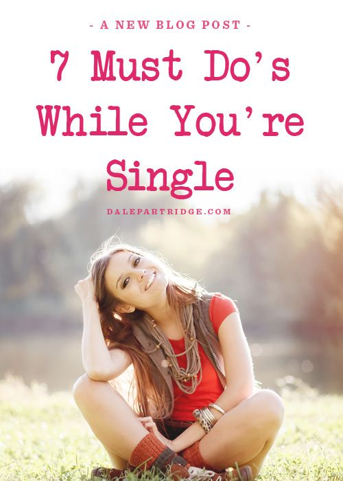Perfect Valentine's Day Read. I am not single but have been before and one of the #1 things I advise young women is to LIVE ALONE and really be single. Love yourself, get to know yourself, and be comfortable with yourself! I can't think of anything more important ♥