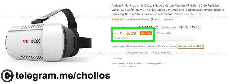 Gafas Realidad Virtual VRBOX por sólo 6 - http://ift.tt/2gyhKTH