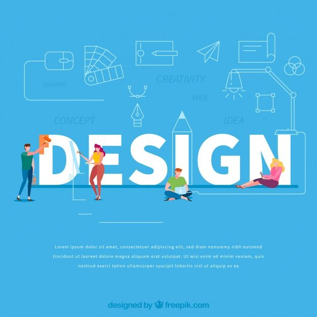 Download Design Word Concept For Free In 2020 Words Design Web Design