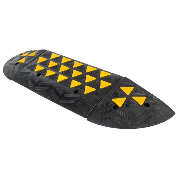 """Guardian 4"""" Modular Curb Ramp with Ends   Curb Ramps   Discount Ramps"""