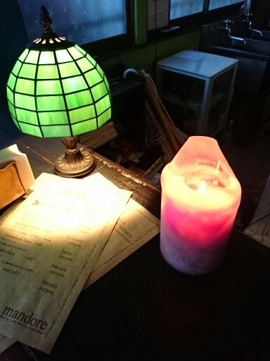 Light and candle