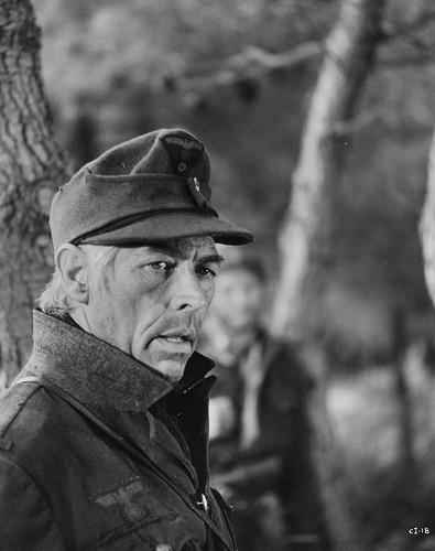 "James Coburn in ""Cross of Iron"" (1977). Director: Sam Peckinpah."