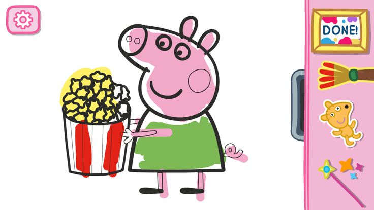 Peppa Pig: Paintbox – Capture d'écran