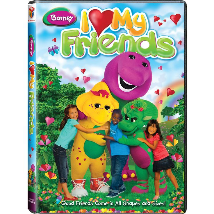 The Official PBS KIDS Shop Barney I Love My Friends DVD