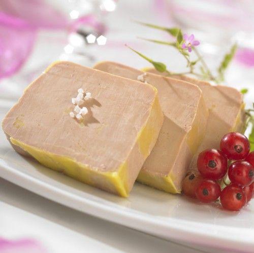 Terrine de Foie Gras à la fleur de sel