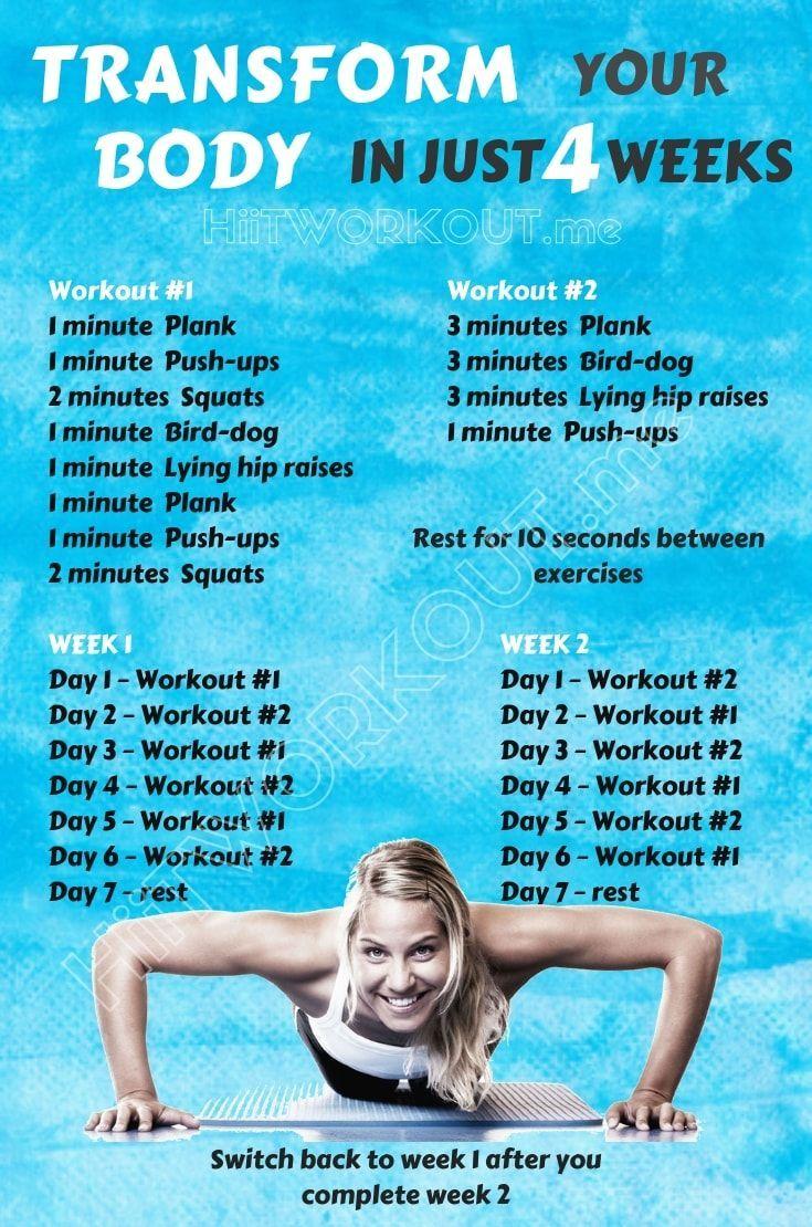 Wir geben Ihnen 5 einfache Übungen, die Ihren Körper in nur – fitness exercise motivation