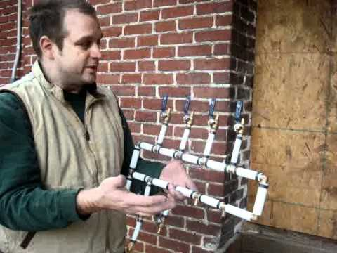 Great Instructions On Building A Manifold With Pex And General Information About Pex Plumbing