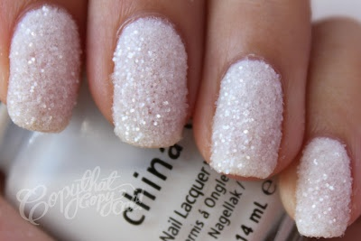 Pretty sugar coated nails