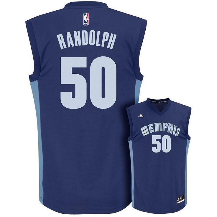 Adidas Men's Memphis Grizzlies Zach Randolph Replica Jersey, Size: Medium, Blue (Navy)