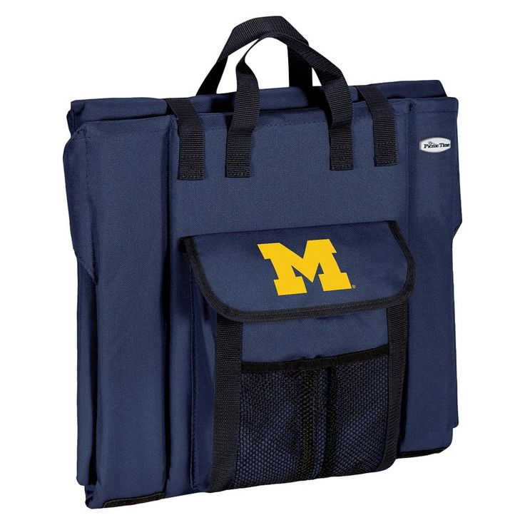 Portable Stadium Seats NCAA Michigan Wolverines Navy