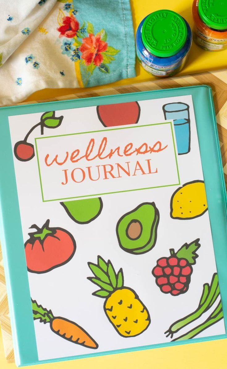 advertisement Free printable wellness journal. One a Day with ...