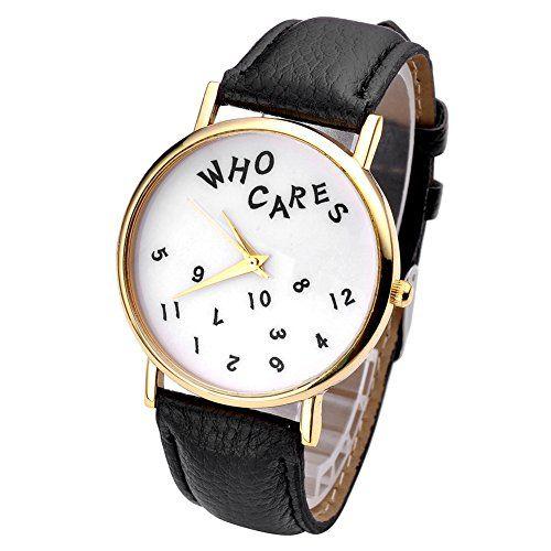 Armbanduhr schwarz flower stripes