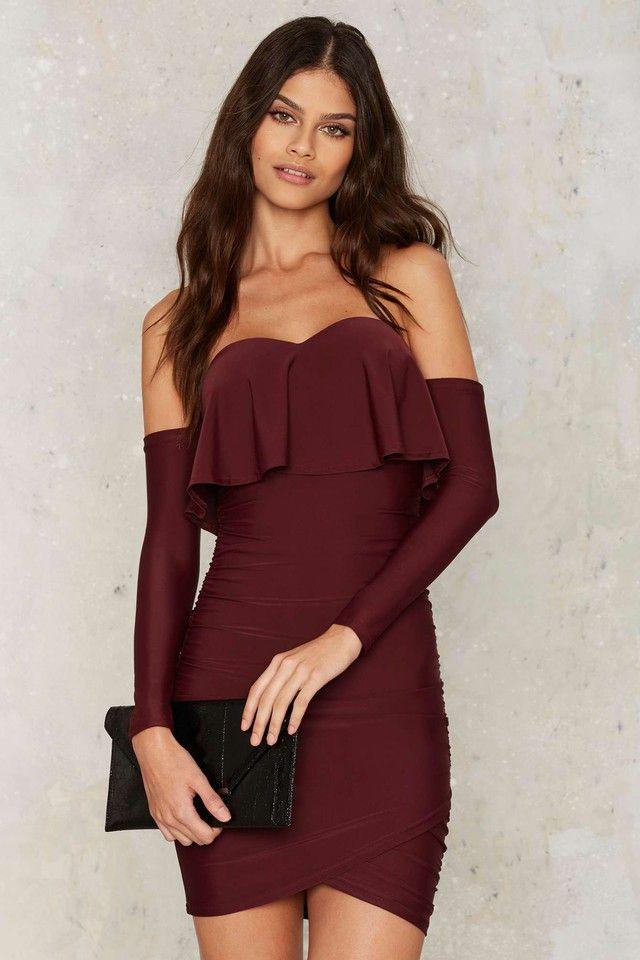 Las 25+ mejores ideas sobre Vestidos color vino en Pinterest | Vestidos vino Vestidos color uva ...