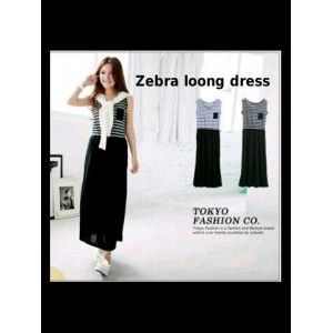 Zebra long dress - KiosMurahOnline.Com