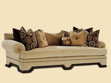 Shop for Marge Carson Marrakech Sofa, MKS43, and other Living Room Sofas at Swanns Furniture and Design in Tyler, TX.