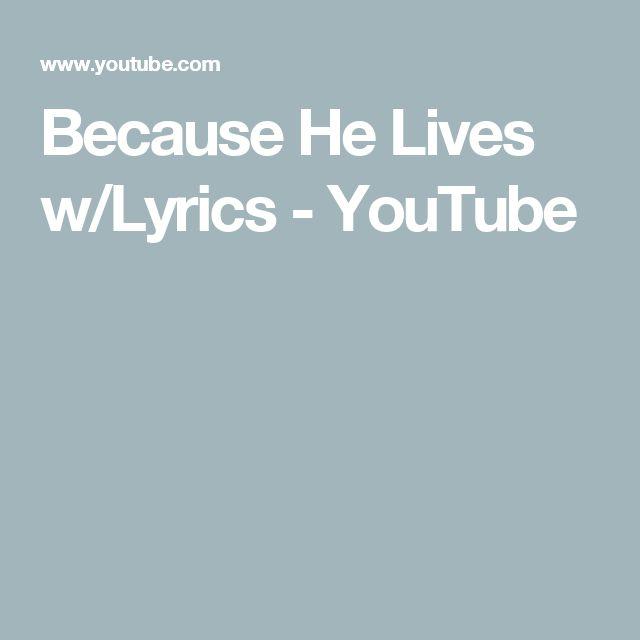 STEVE FEE - ALL BECAUSE OF JESUS (LIVE) LYRICS