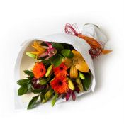 Birthday flowers and gifts: 'Hand Tied Mixed Bouquet'